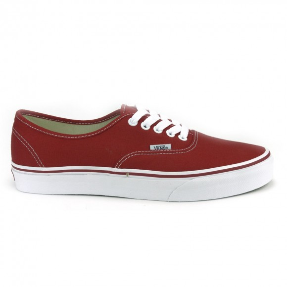 Shoes Vans White Chaussures Authentic Red Iv6gfb7yY