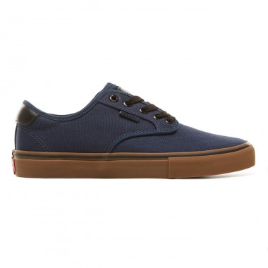 Shoes Vans Chima Ferguson Pro Dress Blue Medium Gum VA38CFU1D
