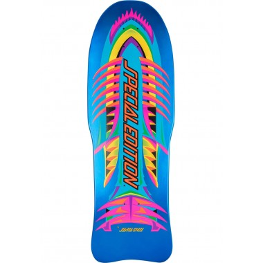 Board Old School Santa Cruz Special Edition Fish Blue