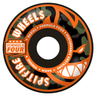 Roues Spitfire F4 Radial Covert Black 99D