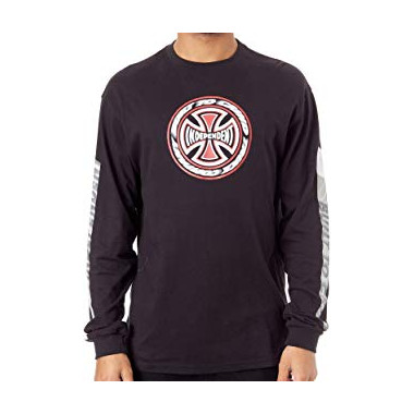 Tee Independent TC Blaze LS Black