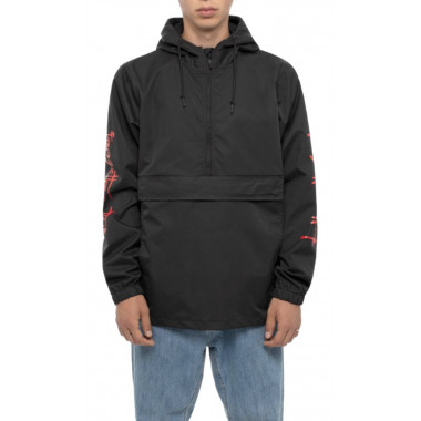 Jacket Huf Frazetta Anorak Black
