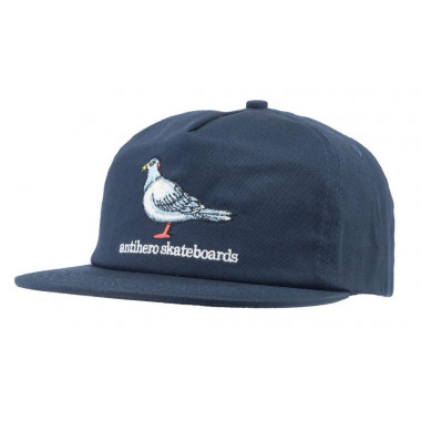Casquette Anti Hero Pigeon Navy White