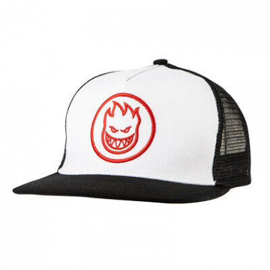 Casquette Spitfire Bighead Circle White black Red