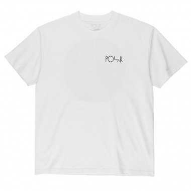 Tee Polar Callistemon Fill Logo White