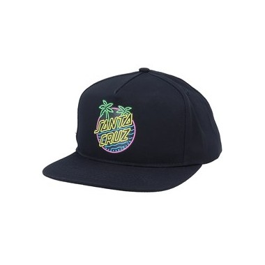 Casquette Santa Cruz Glow Dot Black