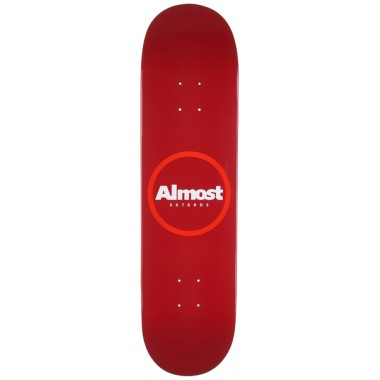 Board Almost Red Ring Logo Hyb Red