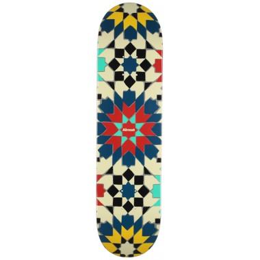 Board Almost Tile Pattern Logo Hyb Cream