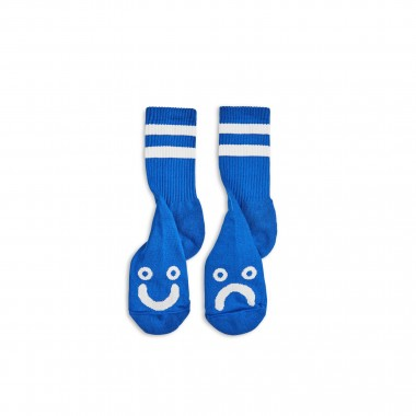 Socks Polar Happy Sad Classic Royal Blue