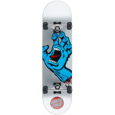 Complete Board Santa Cruz Screaming Hand Silver