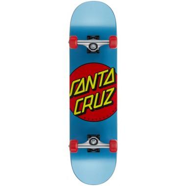 Complete Board Santa Cruz Classic Dot Blue