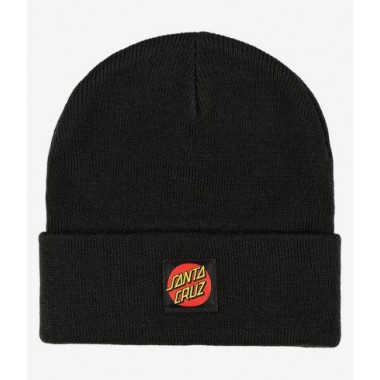 Bonnet Santa Cruz Classic Label Dot Black