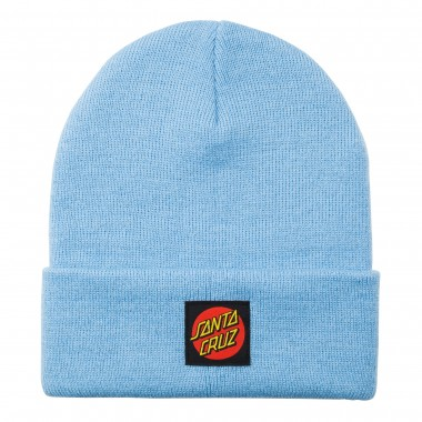 Bonnet Santa Cruz Classic Label Dot Powder Blue