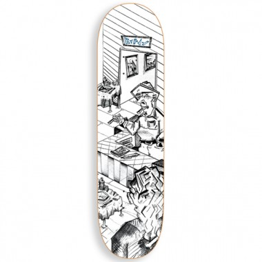 Board Polar Aaron Herrington Diner White