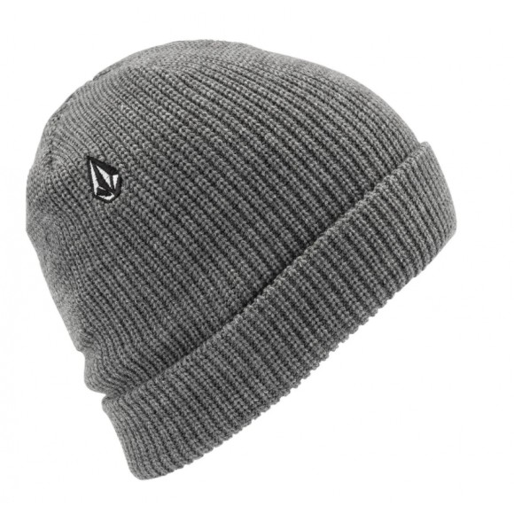 Bonnet Volcom Full Stone Charcoal Heather D5831510