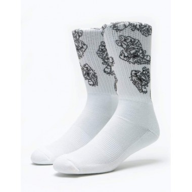 Socks Santa Cruz Universal Hand White