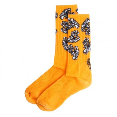 Socks Santa Cruz Universal Hand Orange