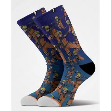 Socks Primitive Naruto Shadow Clone Blue