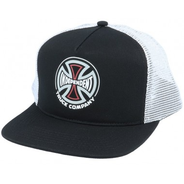 Casquette Independent Converge Meshback Black White