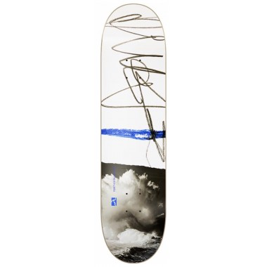 Board Poetic Collective Canvas Sketch Cloudy White