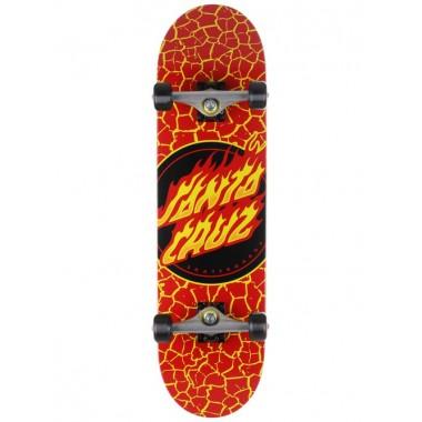 Complete Board Santa Cruz Flame Dot Red