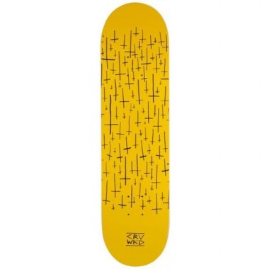 Board Carve Wicked Team Logo Yellow