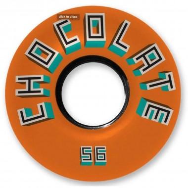 Roues Chocolate Bar Cruiser Orange 78A