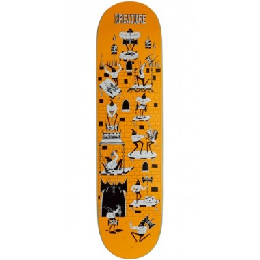 Board Creature Free For All Powerply Orange