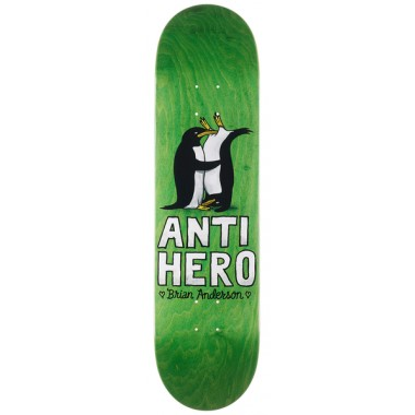 Board Anti Hero Deck Lovers II Brian Anderson Green