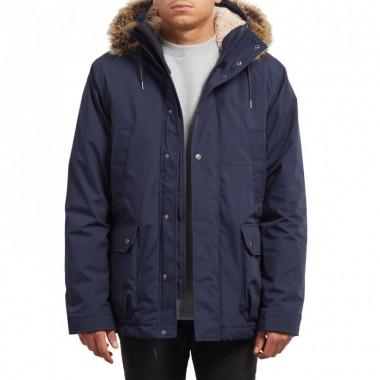Jacket Volcom Lidward Parka Navy A1731705