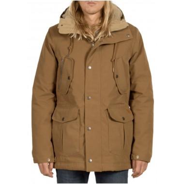 Jacket Volcom Starget Parka Mud A1731706