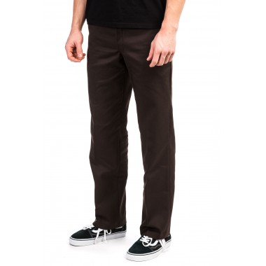 Pants Dickies Slim Straight 873 Work Pant Chocolate Brown