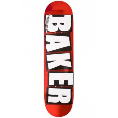 Board Baker Brand logo Red Foil