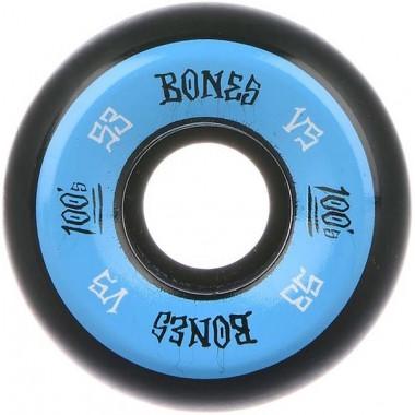 Roues Bones 100'S V5 Black Blue 100A