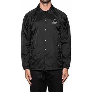 Jacket Huf Essentials TT Coaches Black