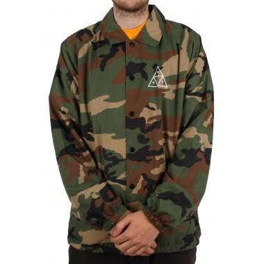 Jacket Huf Essentials TT Coaches Woodland
