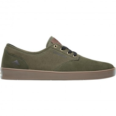 Shoes Emerica The Romero Laced Olive Gum