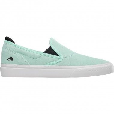 Shoes Emerica Wino G6 Slip On Mint