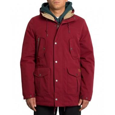 Jacket Volcom Starget Parka Cabernet A1731906