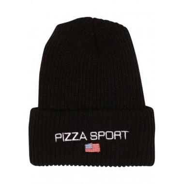 Bonnet Pizza Sport Black
