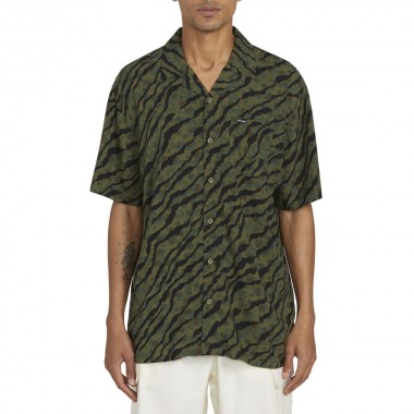 Chemise Volcom Embertone SS Army Green Combo