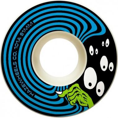 Roues Haze Wheels Sneak Blue 101A