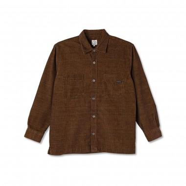 Veste Polar Cord Shirt Caramel