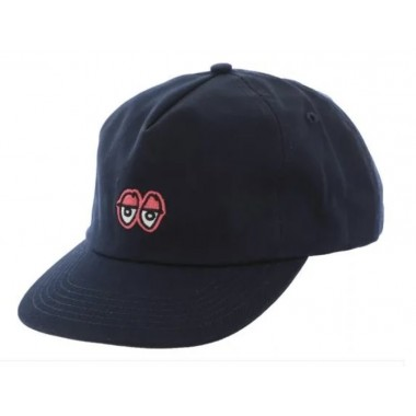 Casquette Krooked Eyes Navy