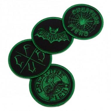 Patch Creature Fiend Club Black Green