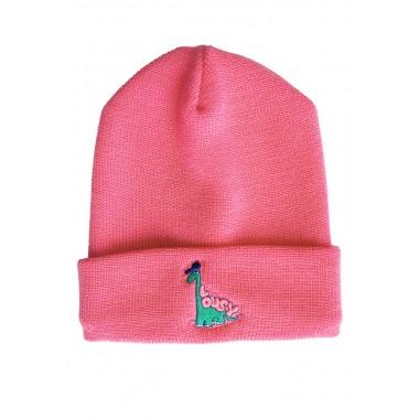 Bonnet Lousy Livin Dino EMB Pink