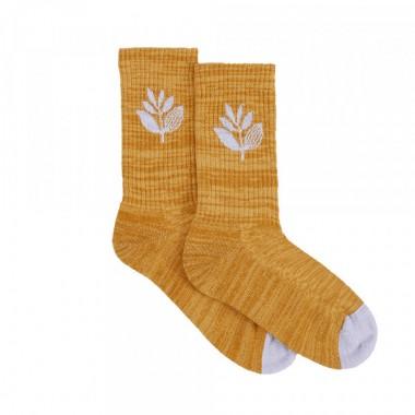 Socks Magenta Plant Honey