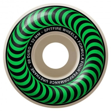 Roues Spitfire F4 Classic Green 99D