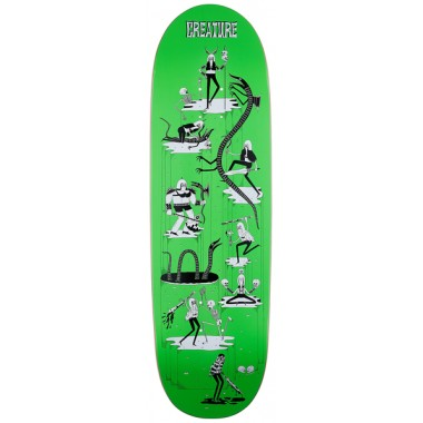 Board Creature Free For All Powerply Green