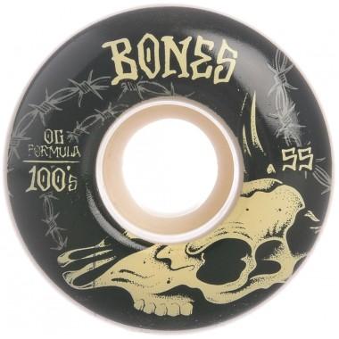 Roues Bones 100'S V4 Desert Skull 100A